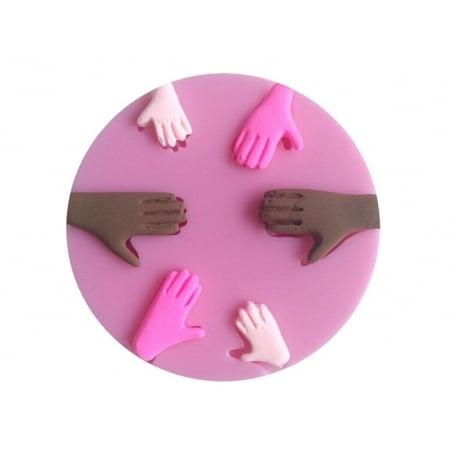 Acheter Moule en silicone - Mains - 9,20€ en ligne sur La Petite Epicerie - Loisirs créatifs