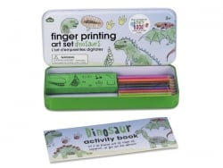 "Finger printing art set ""Dinosaurs"""