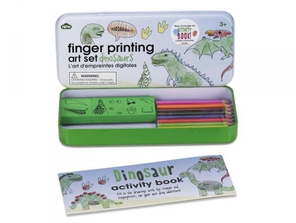 """Kit pour enfant empreintes digitales """"Dinosaures"""""""