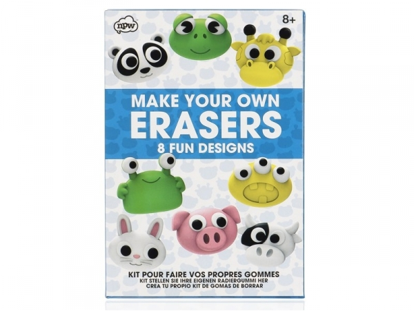 DIY eraser kit - Cute animals