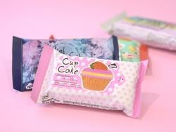 Lingettes pour le modelage - modèle cupcake
