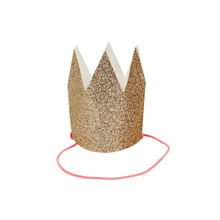 Carte à couronne pailletée Meri Meri - 2