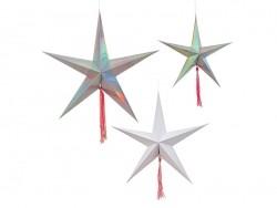 3 Sternschnuppen zum Aufhängen