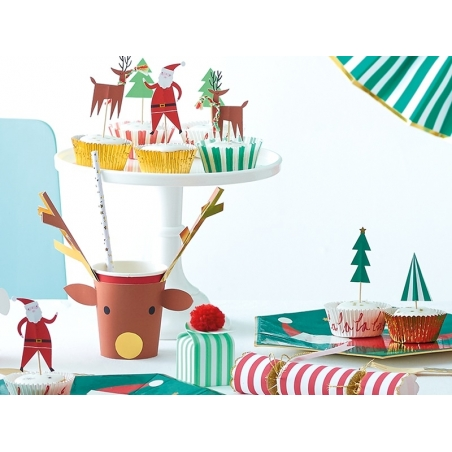 Set de 24 piques décoratifs - Noël Meri Meri - 2