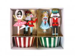 Set de 24 piques décoratifs - Noël