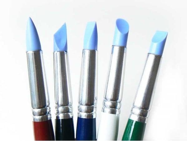 Acheter Lot de 5 pinceaux en silicone - Petit format - 12,90€ en ligne sur La Petite Epicerie - Loisirs créatifs