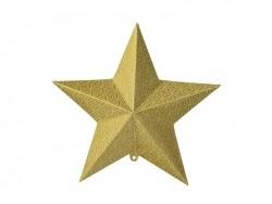 Suspensions étoiles 3D - doré