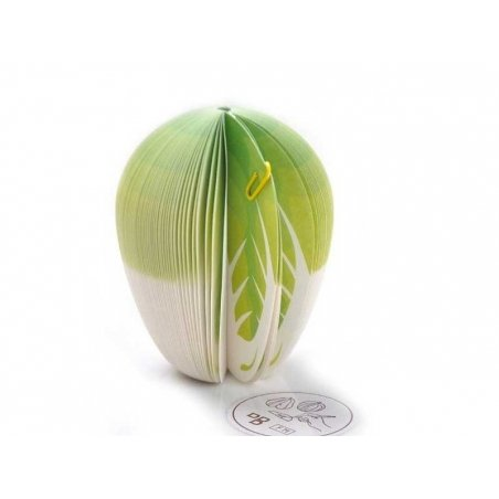 Vegetable-shaped notepad - cabbage