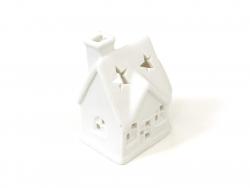 Photophore en porcelaine - maison