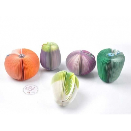 Acheter Bloc note en forme de légume - CHOU - 4,50€ en ligne sur La Petite Epicerie - 100% Loisirs créatifs