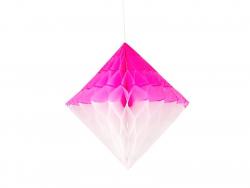 Wabenraute - weiß und pink