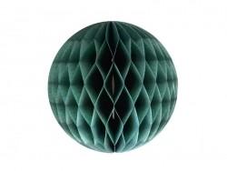 Boule alvéolée - vert canard