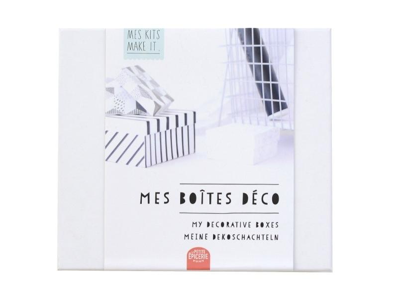 Kit MKMI - Mes boîtes déco - DIY La petite épicerie - 1