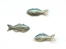 1 Miniaturfisch - grau