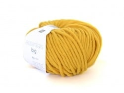"Wool - ""Essentials Big"" - mustard yellow (colour no. 032)"