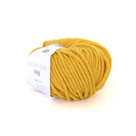 """Acheter Laine """"Essentials Big"""" - Jaune moutarde 032 - 5,40€ en ligne sur La Petite Epicerie - Loisirs créatifs"""