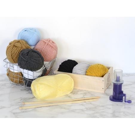 "Wool - ""Essentials Big"" - mustard yellow (colour no. 032)"
