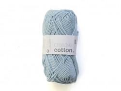 """Wolle - """"Creative cotton Aran"""" - himmelblau (Farbnr. 32)"""