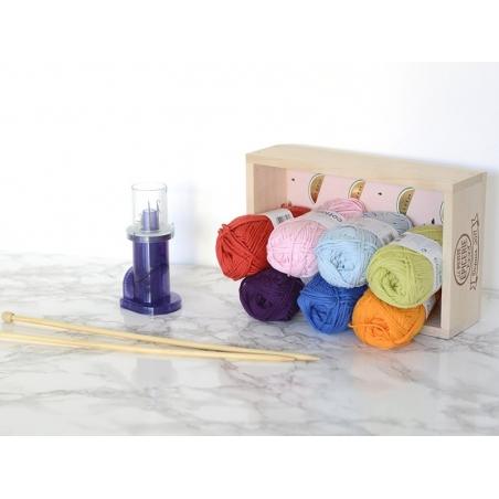 """Acheter Laine """" Creative cotton Aran"""" - orange mandarine 76 - 2,79€ en ligne sur La Petite Epicerie - Loisirs créatifs"""