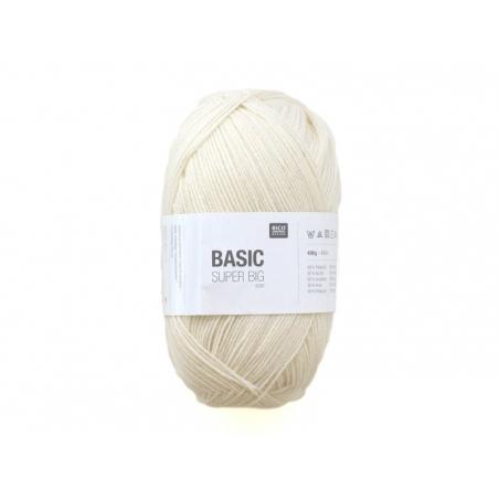 """Acheter Laine """"Basic Super Big"""" - ivoire 001 - 18,90€ en ligne sur La Petite Epicerie - Loisirs créatifs"""