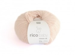 Wool - Baby classic - powder pink (colour no. 038)