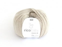 Wool - Baby classic - silver grey (colour no. 043)