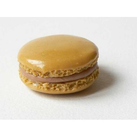 Macaron Pendant - Coffee