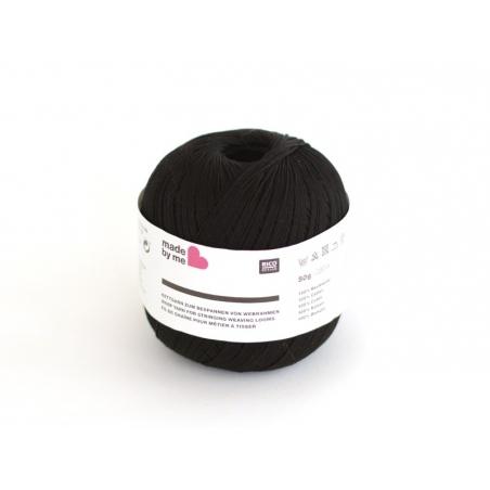 Acheter Fil de coton pour métier à tisser - noir - 2,90€ en ligne sur La Petite Epicerie - 100% Loisirs créatifs