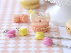 Kit DIY bijoux gourmanrds - macarons