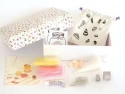 DIY kit - miniature food jewellery - macarons