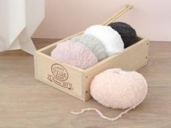 """Wolle - """"Baby Teddy"""" - rosa (Farbnr. 022)"""