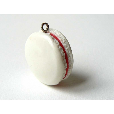 Macaron Pendant - Coconut