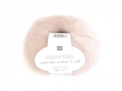 "Wool - ""Essentials Super Kid Mohair Silk"" - pink (colour no. 003)"
