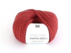 "Wool - ""Essentials Merino Plus"" - red (colour no. 006)"