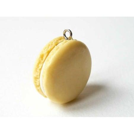 Macaron Pendant - Vanilla