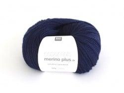 "Wool - ""Essentials Merino Plus"" - night blue (colour no. 012)"