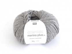 "Wool - ""Essentials Merino Plus"" - light grey (colour no. 013)"