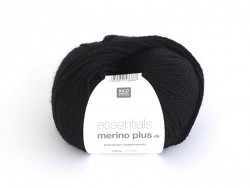 "Laine ""Essentials Merino Plus"" - noir 014"