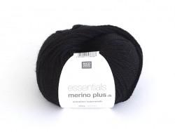 """Laine """"Essentials Merino Plus"""" - noir 014 Rico Design - 1"""