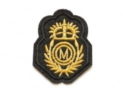 Ecusson thermocollant - blason brodé british