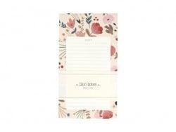 Notepad - folk flowers
