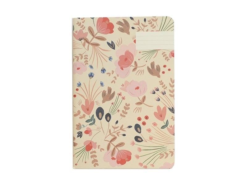 Carnets - fleurs folk