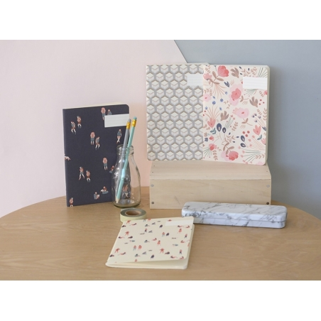 Carnets - fleurs folk Season Paper - 2
