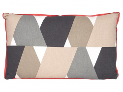 Coussin - triangles