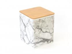 Boîte de rangement - marbre