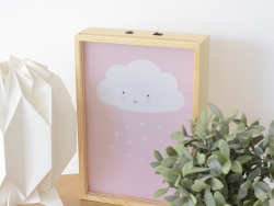 Pack 8 feuilles pour Lightbox poster A4 - little girl - accessoires lightbox