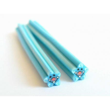 Starfish cane - blue