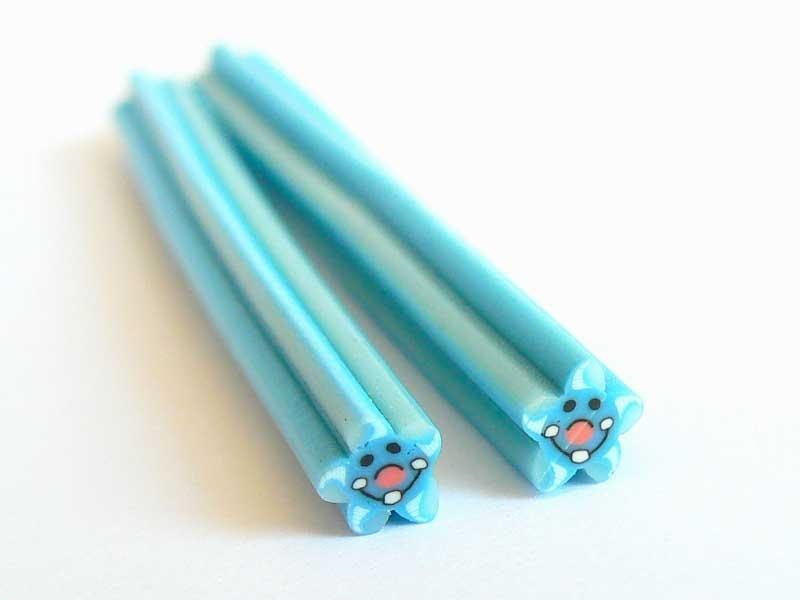 Acheter Cane étoile de mer - bleue en pâte fimo - à découper en tranches - 0,49€ en ligne sur La Petite Epicerie - Loisirs c...