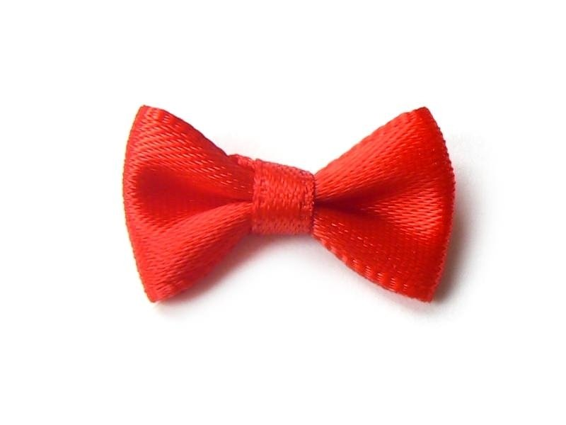 Red bow - 3 cm