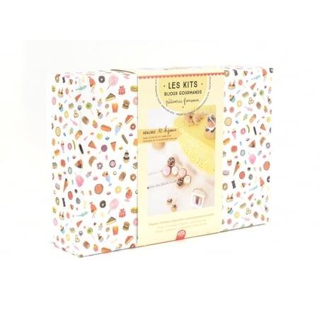 Acheter Kit DIY bijoux gourmands - pâtisserie française - 24,99€ en ligne sur La Petite Epicerie - Loisirs créatifs